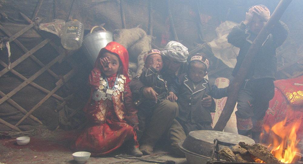 Памирские кыргызы. Архивное фото