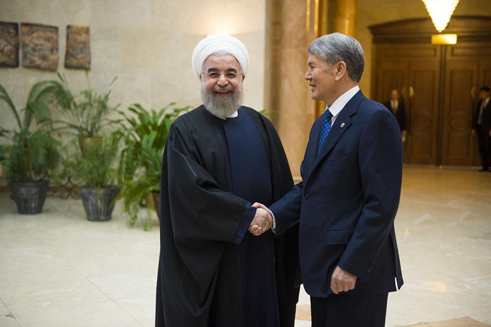 Хасан Роухани эки мамлекет ортосундагы виза режиминин жокко чыгарылышын Иран колдой турганын билдирди