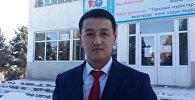 Ноокат районунун Кыргыз-Ата айыл өкмөт башчысы Бакытбек Марипов