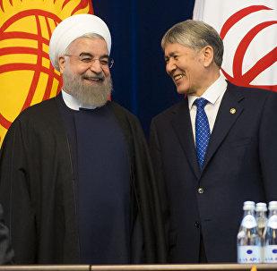 Официальный визит президента Ирана Хасана Роухани в КР