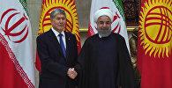Атамбаев о сотрудничестве и облегчении визового режима с Ираном
