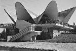Изюминка кафе Бермет в парке культуры и отдыха имени 50-летия СССР (сейчас — имени Кемаля Ататюрка). Архивное фото