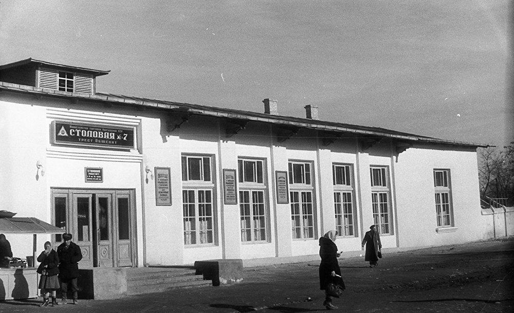 Как выглядели рестораны и кафе во Фрунзе