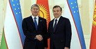 Рабочий визит президента Кыргызстана Алмазбек Атамбаева в Узбекистан