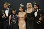 Актеры сериала Игра престолов на премии Эмми в Лос-Анджелесе. Архивное фото