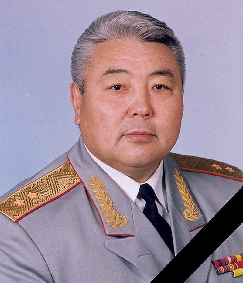 Бывший глава МВД Кыргызстана генерал-майор милиции Болотбек Ногойбаев