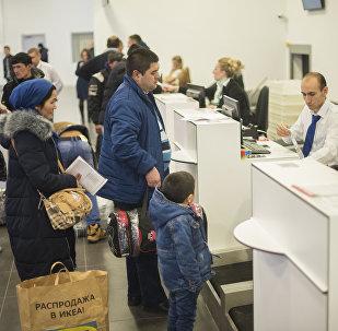 Первый рейс Москва — Бишкек из нового аэропорта Жуковский