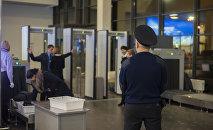 Служба безопасности аэропорта. Архивное фото