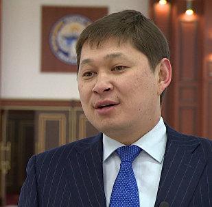 Архивное фото первого заместителя руководителя аппарата президента КР Сапара Исакова