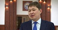 Заведующий отделом внешней политики в ранге заместителя руководителя аппарата президента КР Сапар Исаков