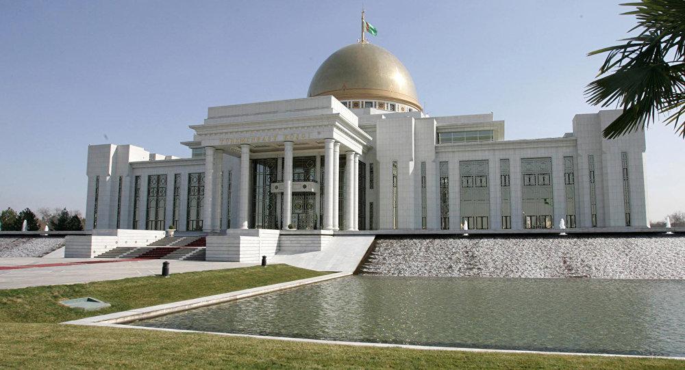 Түркмөн президентинин резиденциясы. Архив