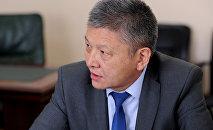 Экс-директор Государственной инспекции по ветеринарной и фитосанитарной безопасности Калыс Жумаканов. Архивное фото