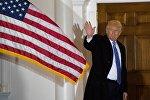 АКШ президенти болуп шайланган Дональд Трамптын архивдик сүрөтү