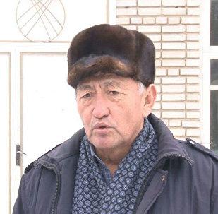 Жапалак айыл өкмөтүнүн жер боюнча адиси Жамшит Абылов