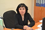 Главный эксперт управления эпидемиологического надзора Комитета по защите прав потребителей Казахстана Роза Кожапова