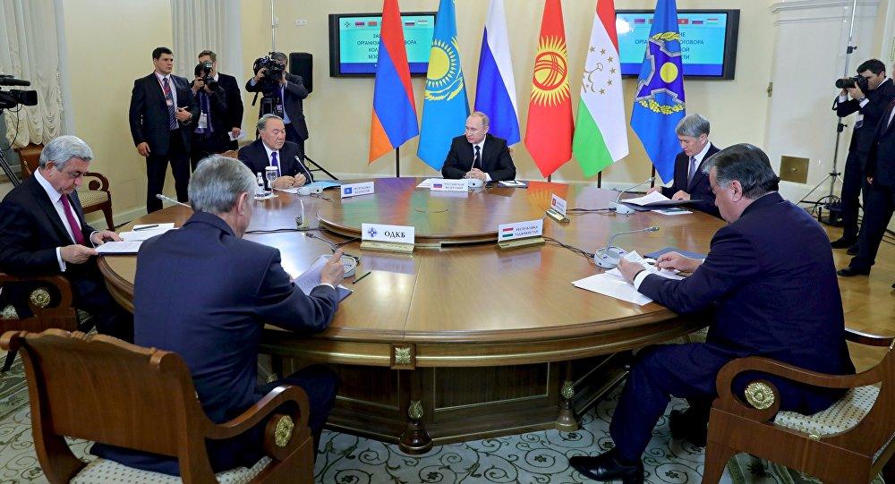 Заседание ВЕЭС и сессии Совета коллективной безопасности ОДКБ в Санкт-Петербурге