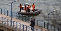 Поисково-спасательные работы у побережья Черного моря, где потерпел крушение самолет Минобороны РФ Ту-154.