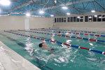 Впервые в Караколе открылся бассейн
