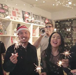 Новогодний позитив: музыканты сделали новогодний подарок Кыргызстану