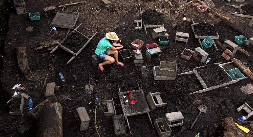Археолог. Архивдик сурот