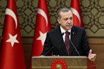 Түркиянын лидери Режеп Тайип Эрдоган. Архив
