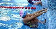 Турнир на кубок мэра города Бишкек по плаванию в плавательном бассейне Дельфин.