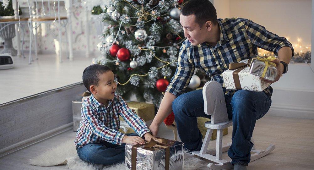 Новогодний подарок для сына