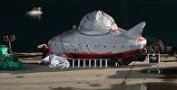 Ту-154 учагынын калдыктарын издеген батискаф. Архивдик сүрөт