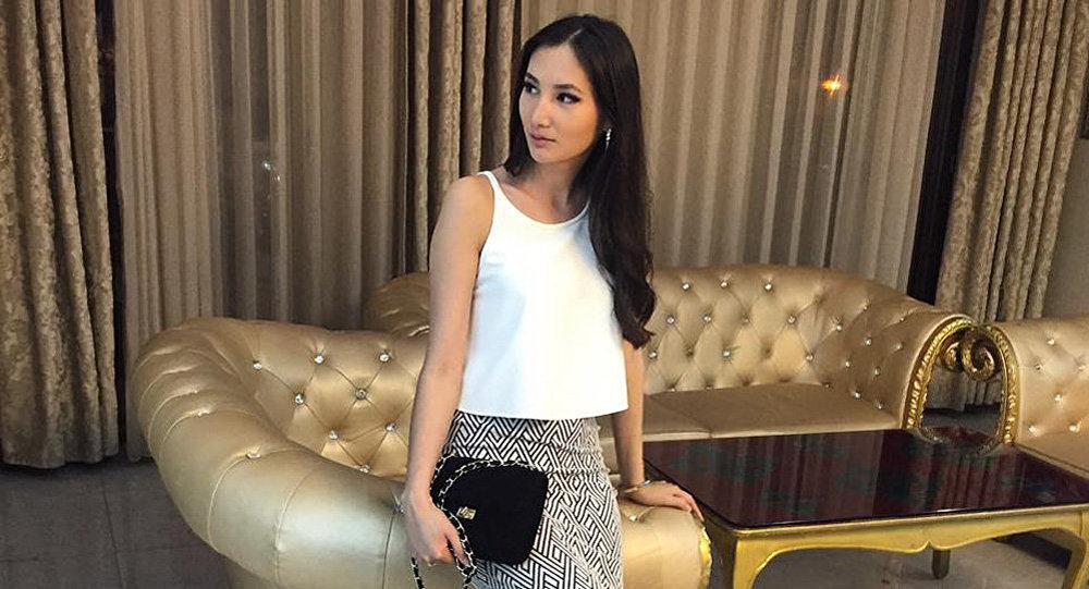 Архивное фото обладательницы титула Мисс Кыргызстана-2013 Жибек Нукеевой