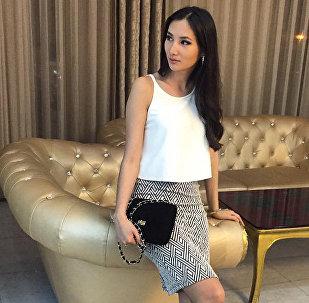 Обладательница титула Мисс Кыргызстана-2013 Жибек Нукеева