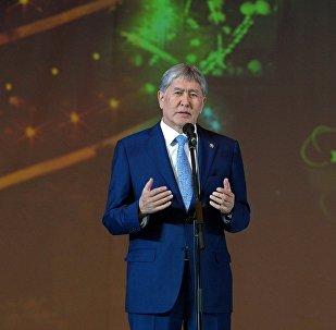 Өлкө башчысы Алмазбек Атамбаев президенттик балаты учурунда