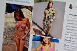 Девушки-военные из Израиля. Фото из акканута hotisraeliarmygirls в Instagram