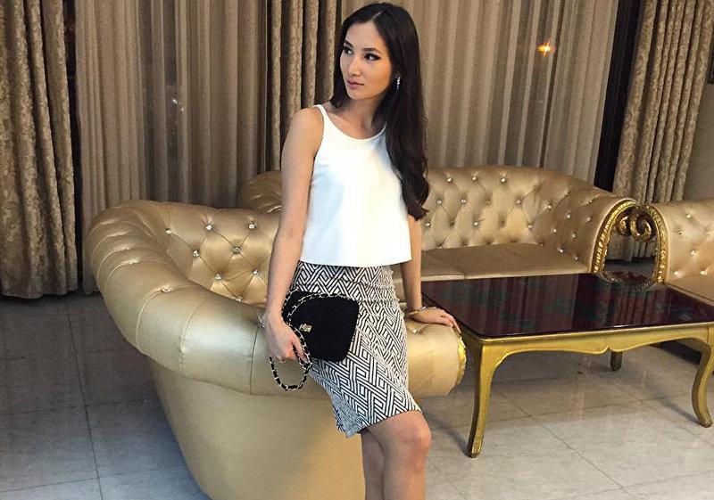 Обладательница титула Мисс Кыргызстана-2013 Жибек Нукеева, которая представляла Кыргызстан на международном конкурсе красоты Мисс Мира 2013