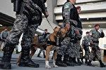Бразилиянын полиция кызматкерлери. Архив