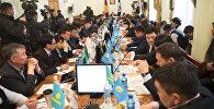 Бишкек шаардык кеңештин отуруму