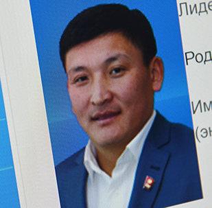Бишкек шаардык кеңештин төрагасы Канатбек Музуралиевдин архивдик сүрөтү