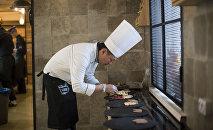 Профессиональный шеф-повар Виктор Цой