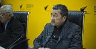 Режиссер, сценарист, заслуженный деятель искусств Киргизской ССР Геннадий Базаров. Архивное фото