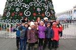 Учащиеся средней школы Кочкорского района посетили столичную школу-гимназию №69 в Бишкеке