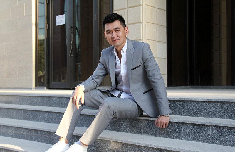 Популярный кыргызский певец Нурлан Насип. Архивное фото