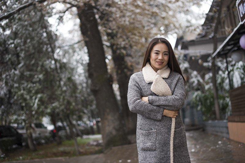 Кыргызстанская эстрадная исполнительница, победительница Turkvizyon Жийдеш Идрисова