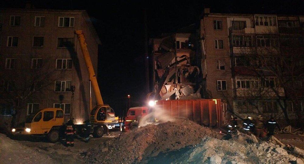 ВКазахстане при обрушении жилого дома погибли 9 человек