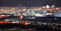 Фотофакт: завораживающая панорама новогоднего салюта в Бишкеке