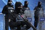 Сотрудники полиции в Стамбуле. Архивное фото