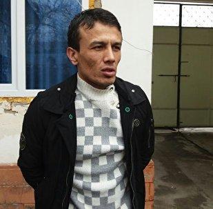 Кыргызстандык Яхье Машраповдун архивдик сүрөт