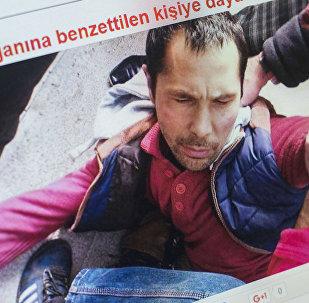 Избитый в Стамбуле гражданин Туркменистана, который похож на террориста расстрелявшего посетителей ночного клуба