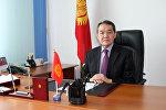 Архивное фото председателя Национальной комиссии по государственному языку при Президенте КР Назаркула Ишекеева
