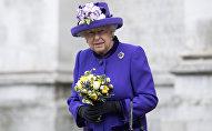 Королева Великобритании с 1952 года по настоящее время Елизавета II. Архивное фото