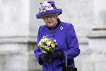 Англиянын королевасы Елизавета II архивдик сүрөтү