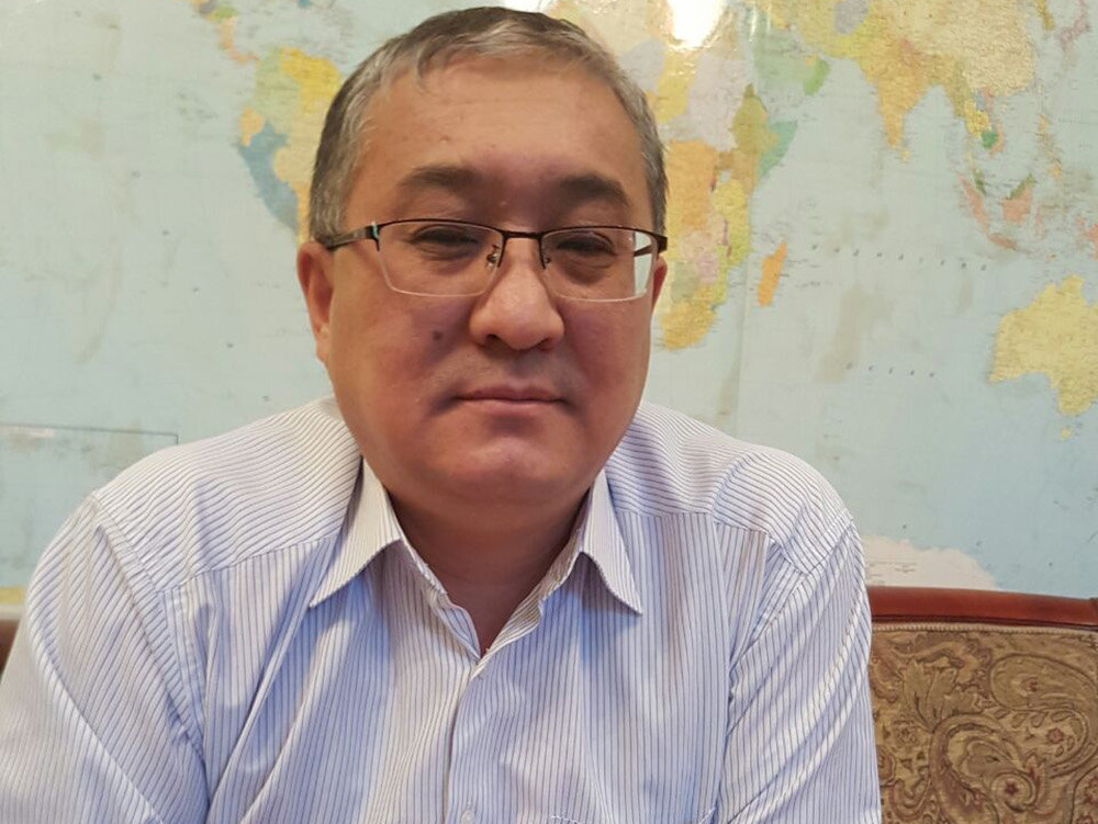 Коммерческий директор ОАО Авиакомпания Кыргызстан Жолдошбек Бектурганов. Архивное фото